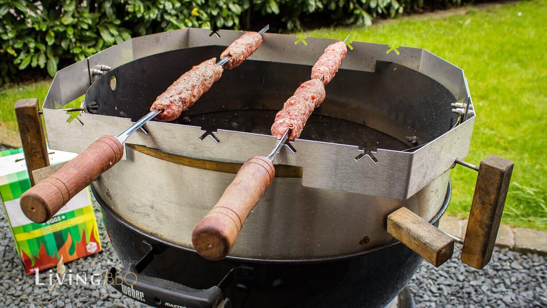 Adana Kebap mit Moesta-BBQ
