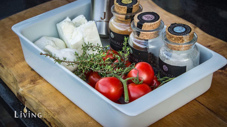 Zutaten geräucherte Tomaten