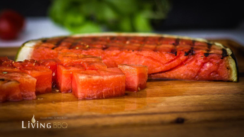gegrillte Wassermelone wassermelone_Melonensalat 3 von 4