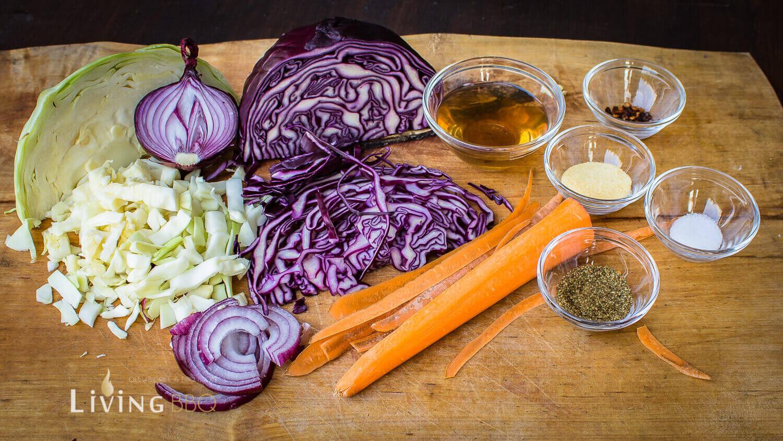 Coleslaw amerikanischer Krautsalat Essig Dressing coleslaw_Cole Slaw Essig 1 von 4
