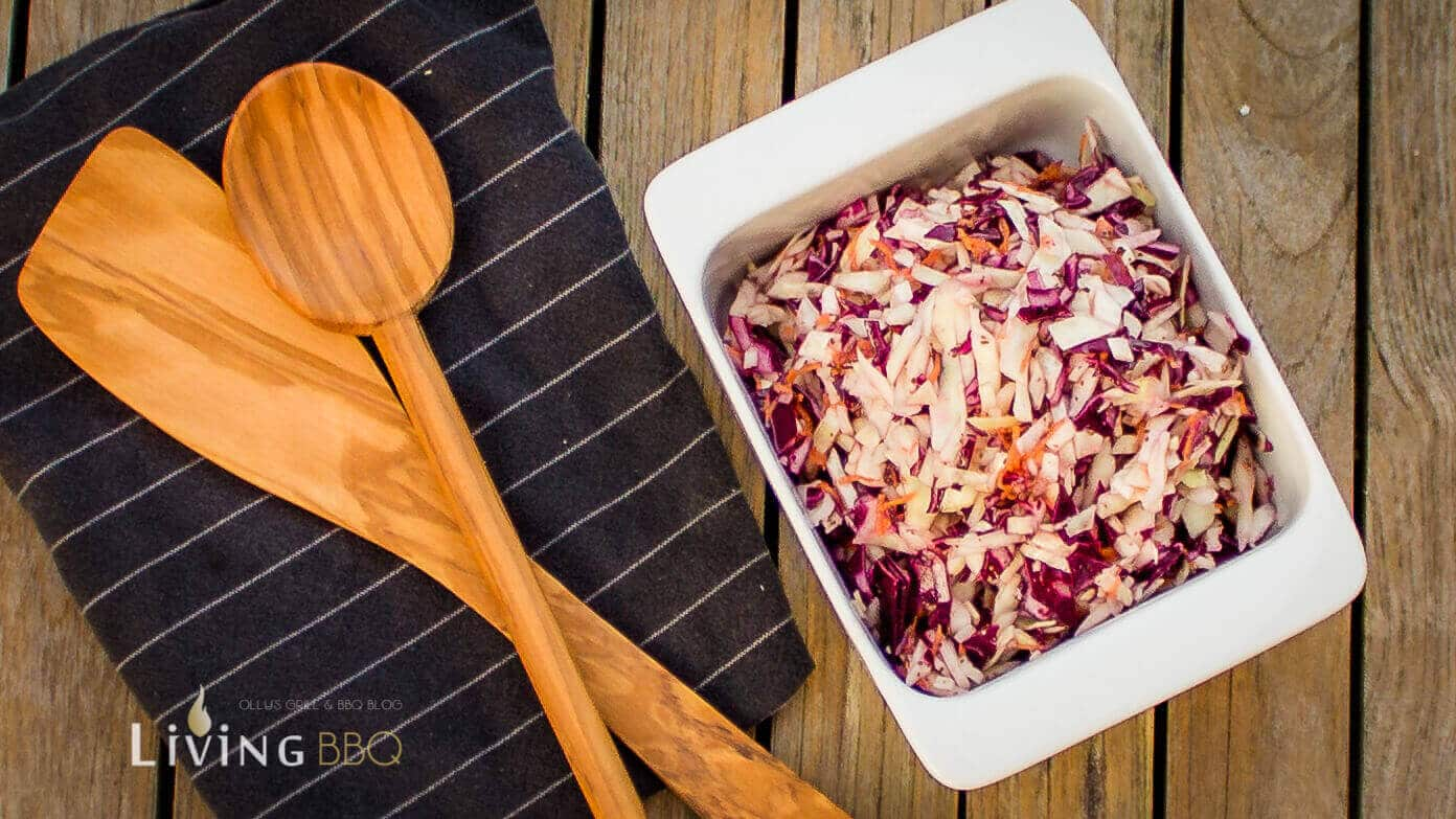 Coleslaw amerikanischer Krautsalat Essig Dressing coleslaw_Cole Slaw Essig 3 von 4