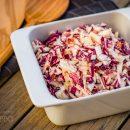 Coleslaw amerikanischer Krautsalat Essig Dressing