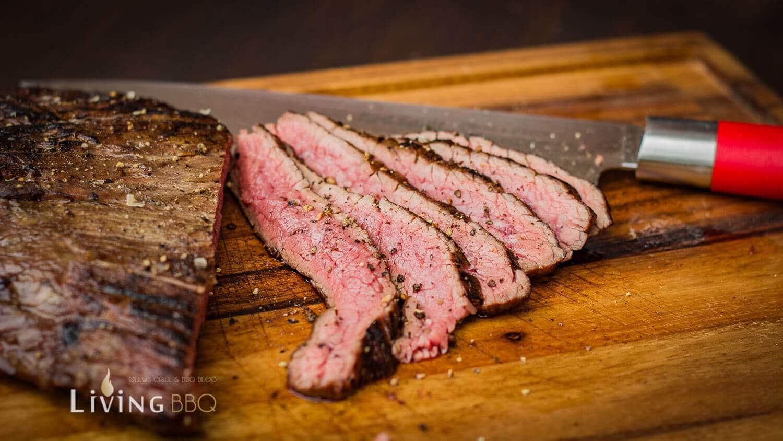 Flank Steak Anschnitt flank steak_Flank Steak Baguette 5 von 11 1