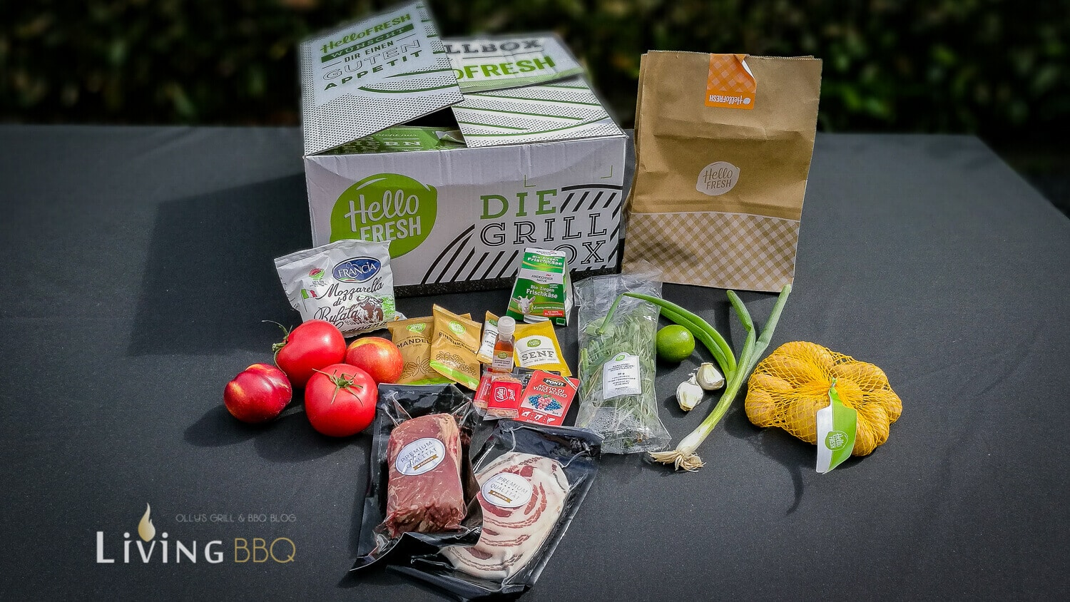 Hello Fresh Grillbox