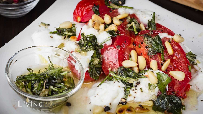 gegerillter Caprese Salat