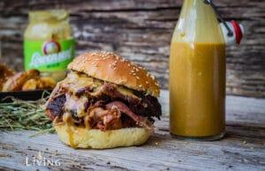 Carolina Mustard Barbecue Sauce