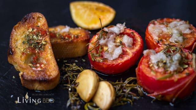 Gegrillte Tomaten Pancetta