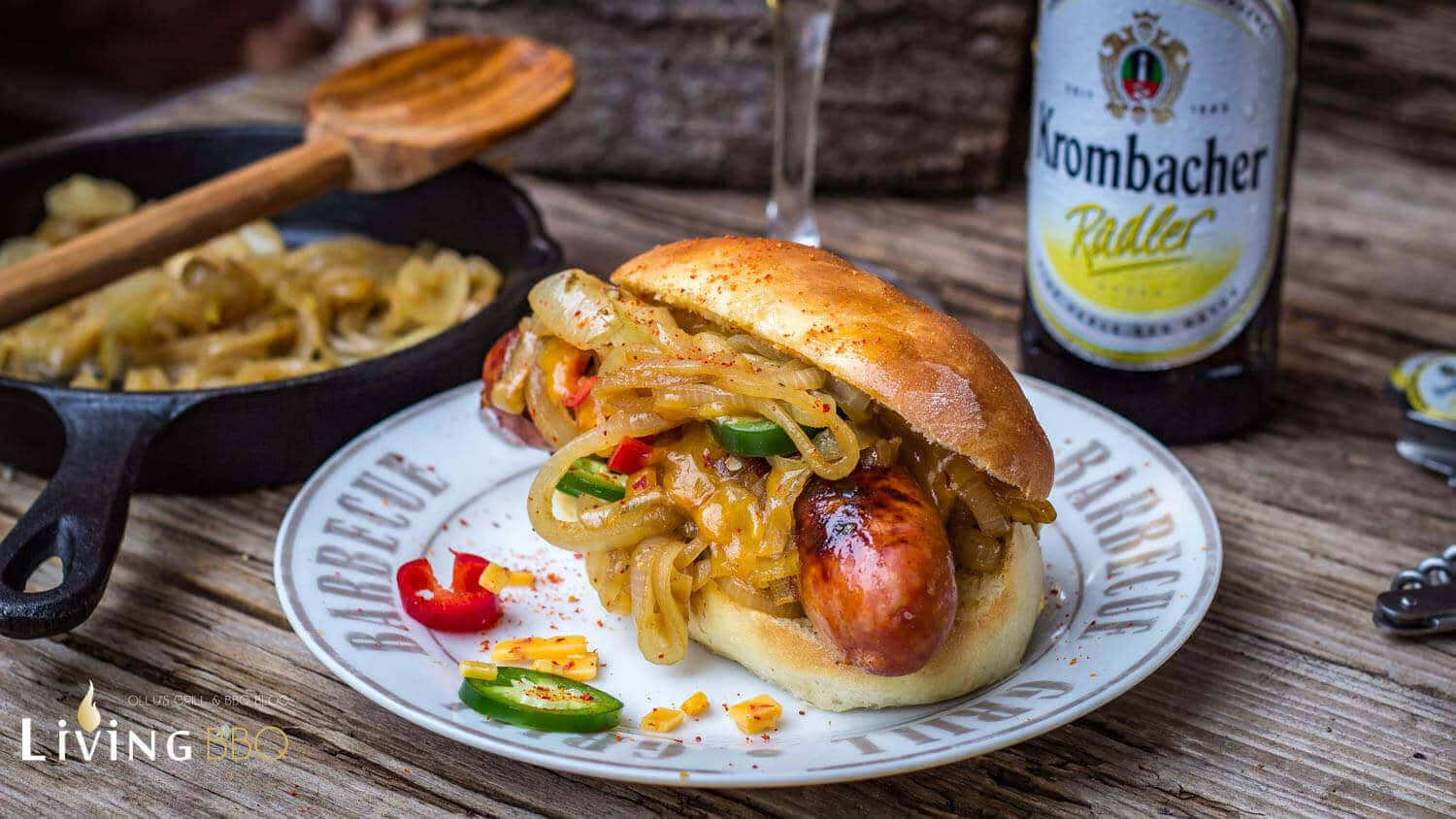 Hot Dog Bier Bratwurst