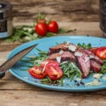 Flank Steak grillen flank steak_Flank Steak auf Ruccola 12 von 23 150x150