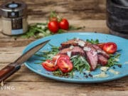 Flank Steak grillen