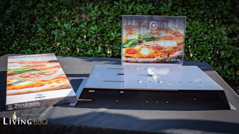 Pizza Gasgrill : Pizza im gasgrill moesta bbq pizzacover im test