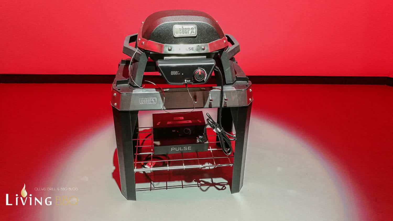 Weber Elektrogrill Temperatur : Weber pulse smartgrill u ein elektrogrill mit igrill technologie