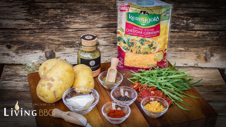 Ofenkartoffel mit geriebenem Cheddarkäse ofenkartoffel_Offenkartoffel mit Cheddar K  se 1 von 28