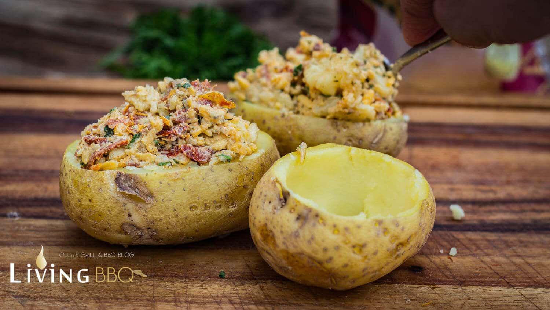 Ofenkartoffel mit geriebenem Cheddarkäse ofenkartoffel_Offenkartoffel mit Cheddar K  se 15 von 28