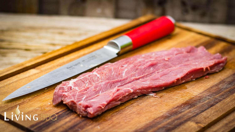 Schweinelende gefüllt schweinefilet_gef  lltes Schweinefilet Holzplanke 4 von 26