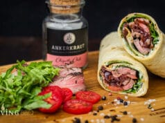 Flank Steak Wrap
