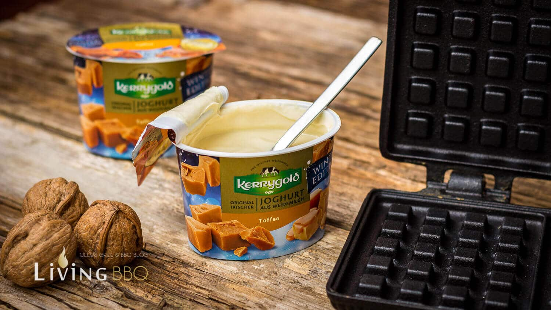 Belgische Waffeln Kerrygold Toffee