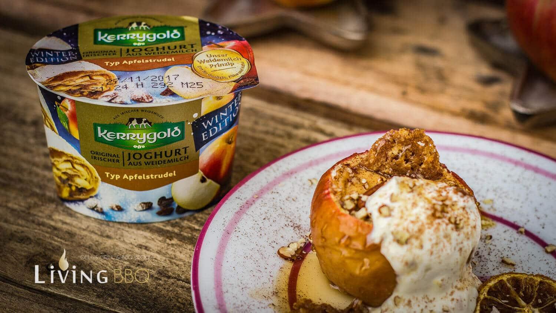 Bratapfel mit Kerrygold Apfelstrudel