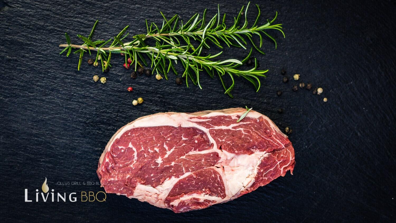 Ribeye Steak für Burger blauschimmelkäse burger_Ribeye Entrecote Cap of Ribeye 2 von 14