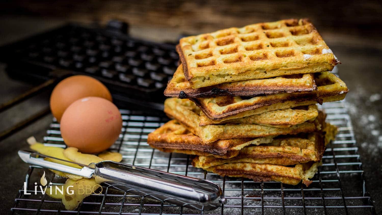 Kartoffelwaffeln Entenbrust Mango Chutney kartoffelwaffeln_Entenbrust auf Kartoffelwaffel und Mangochutney 18 von 11