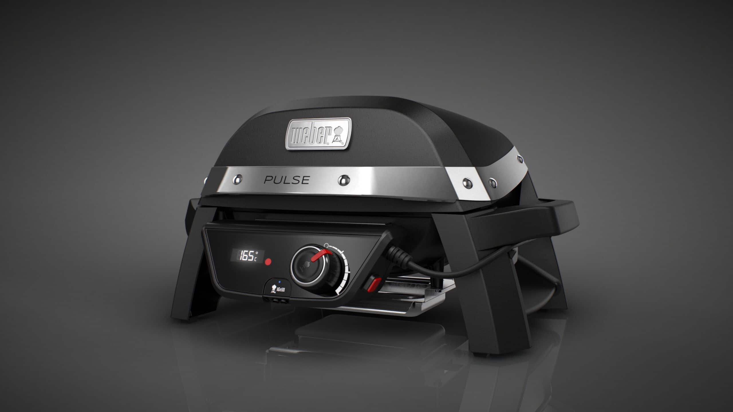 weber pulse elektrogrill smartgrill mit igrill technologoy. Black Bedroom Furniture Sets. Home Design Ideas