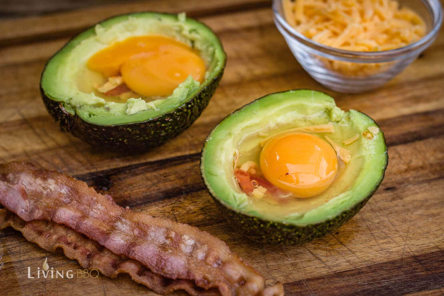 Avocado Rezept Ei Bacon Frühstück