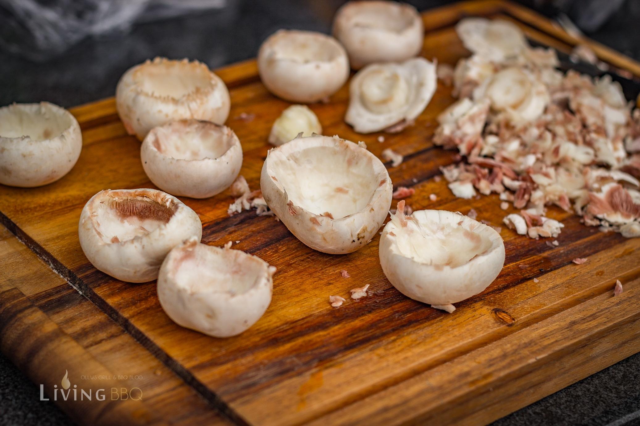 gefüllte Champignons vom Grill gefüllte champignons_Gefu  llte Champignons 2 von 9
