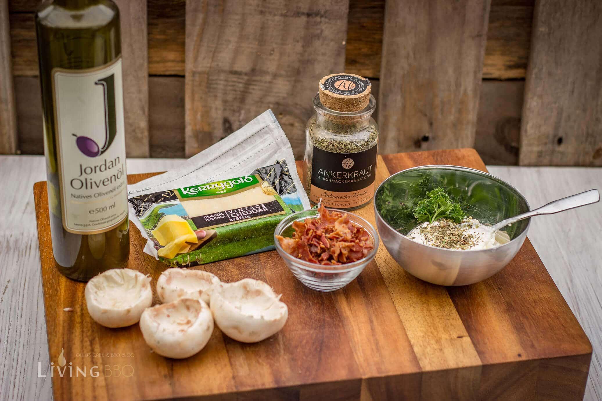 gefüllte Champignons vom Grill gefüllte champignons_Gefu  llte Champignons 3 von 9