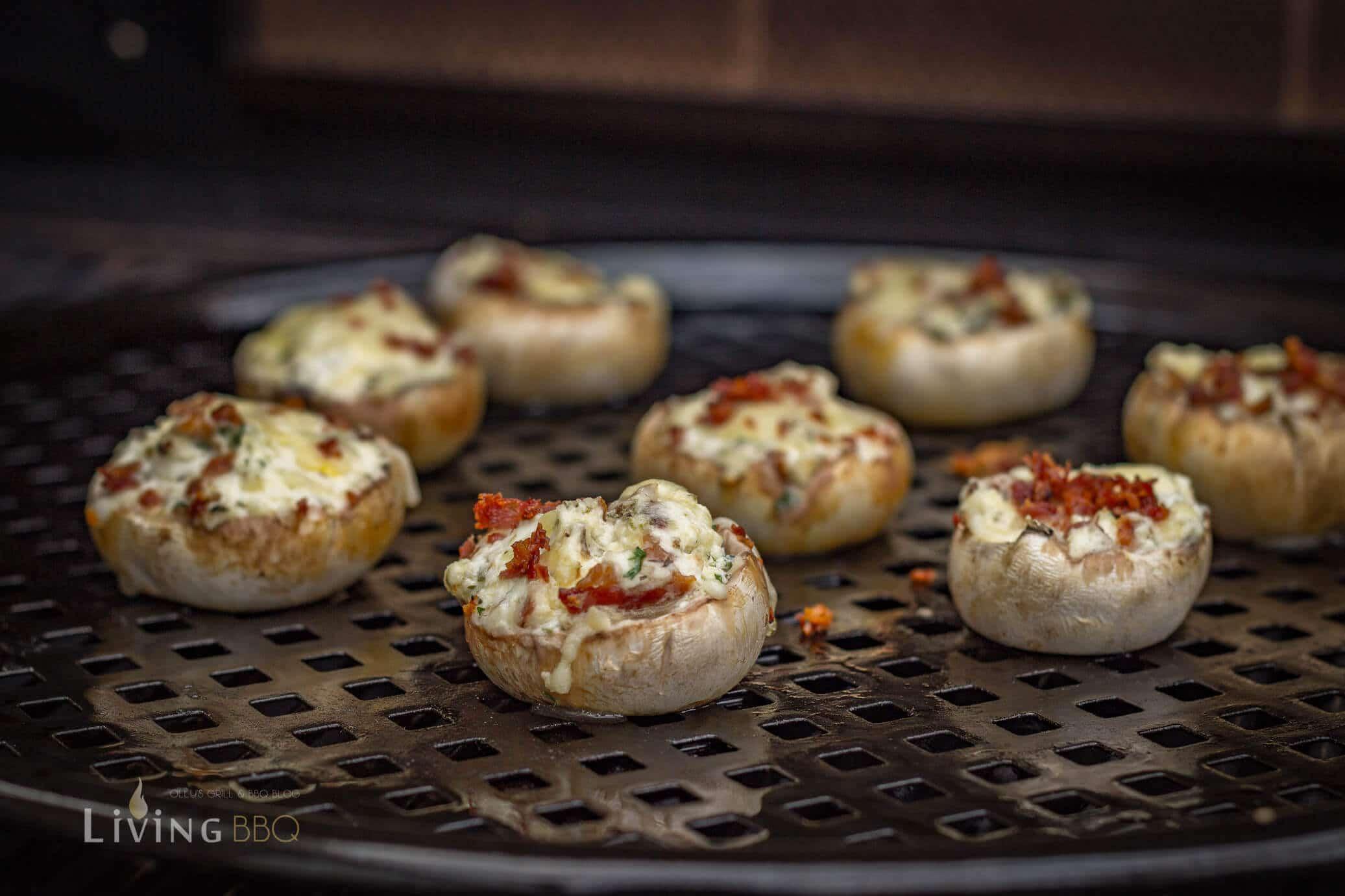 gefüllte Champignons vom Grill gefüllte champignons_Gefu  llte Champignons 7 von 9