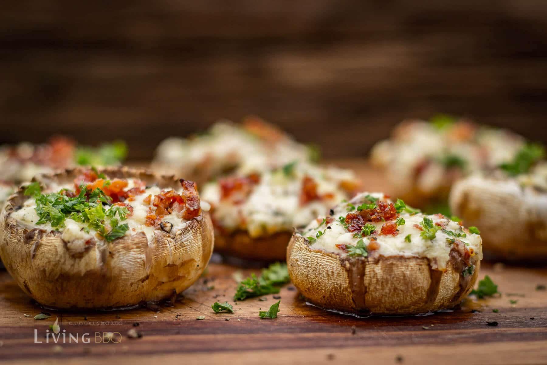 gefüllte Champignons vom Grill gefüllte champignons_Gefu  llte Champignons 9 von 9