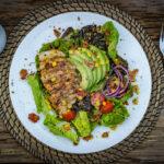 Hähnchenbrustfilet auf Avocado Salat hähnchenbrustfilet_Ha  hnchenbrustfilet auf Avocado Salat 8 von 11 150x150