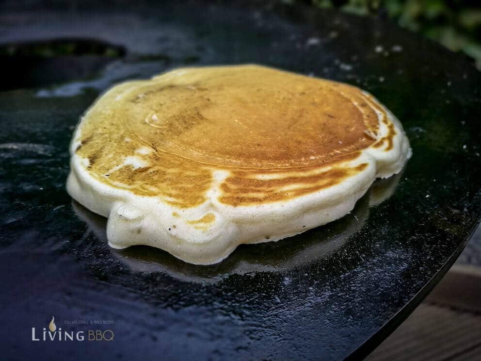 Gefüllte Pancakes Nutella