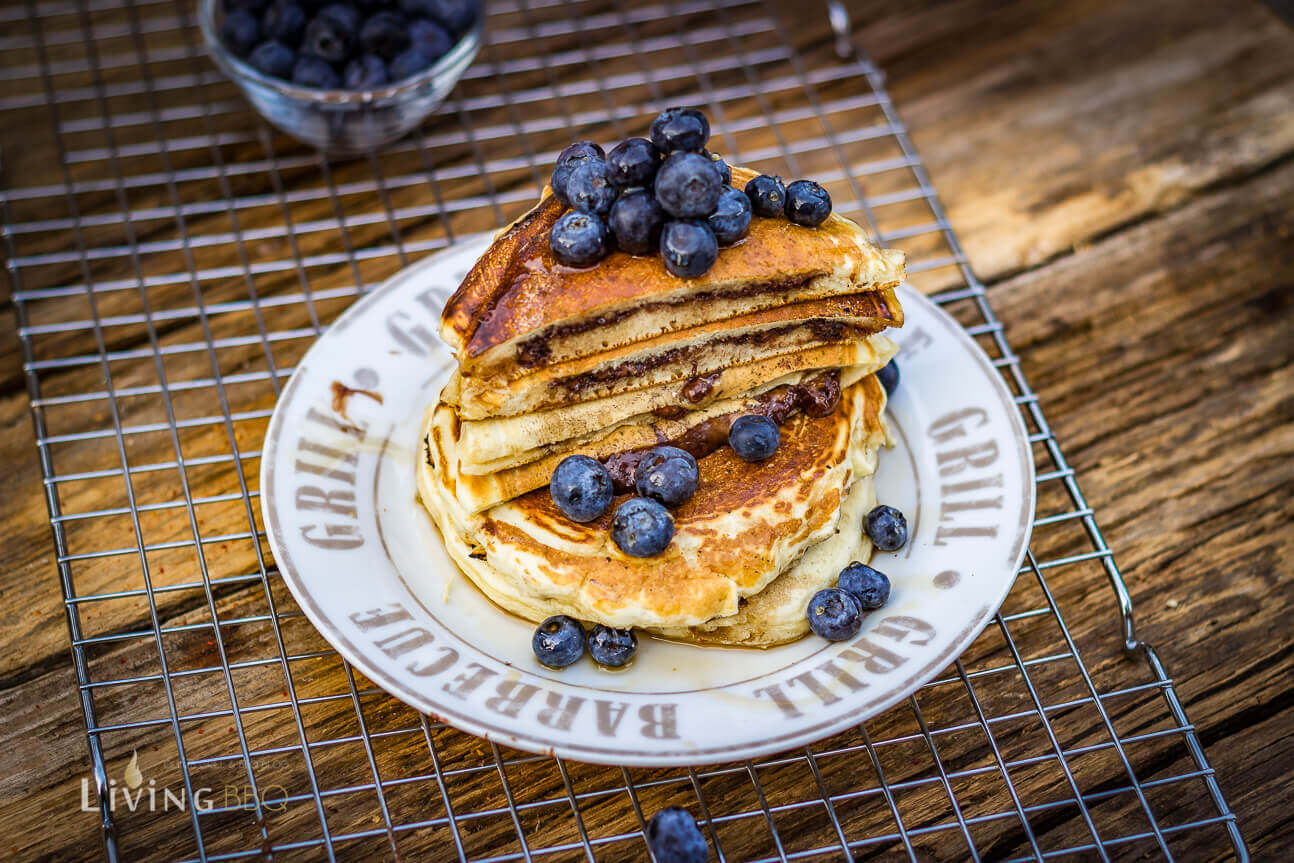 gefüllte Pancakes Nutella pancakes_Pancake mit Nutella Fu  llung 9 von 13