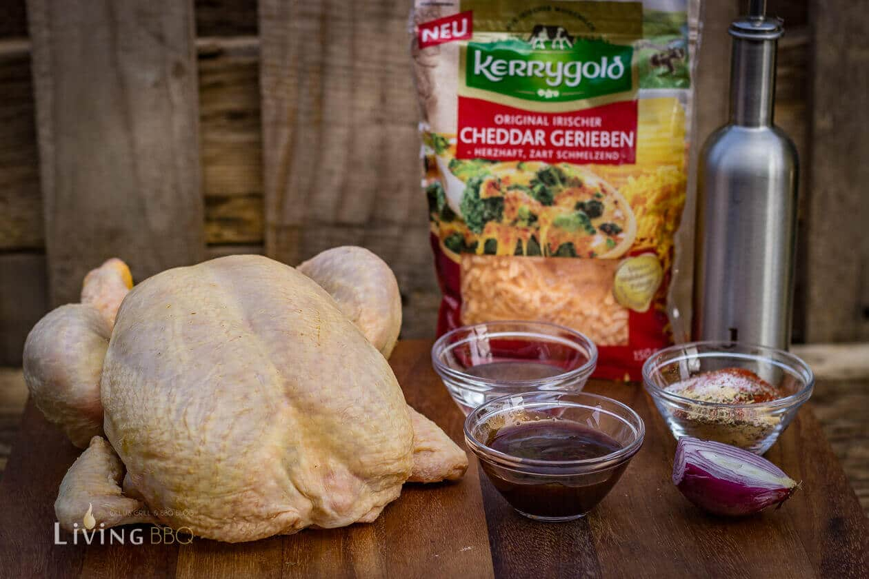 Zutaten für Pulled Chicken
