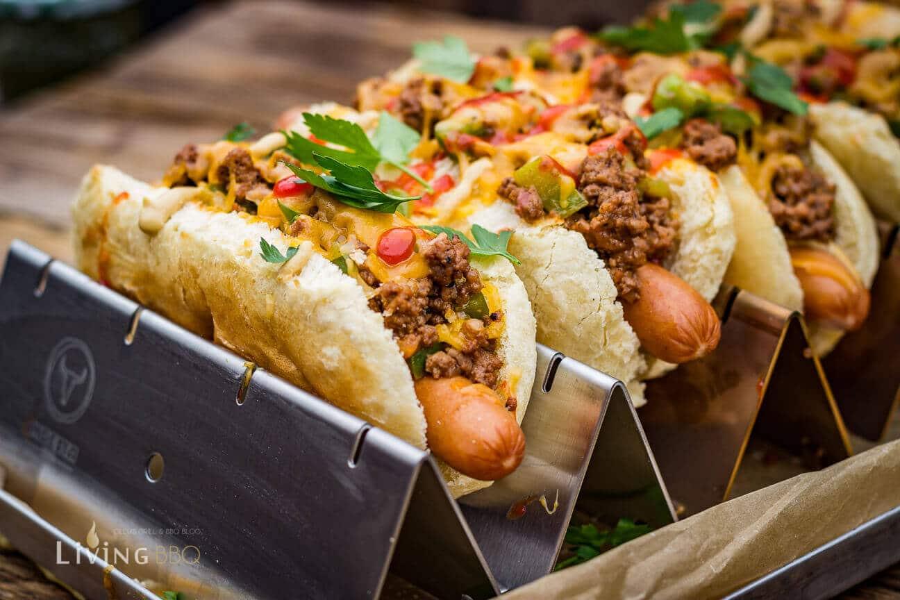 Sloppy Joe Hot Dog auf Doggie Roast Halter sloppy joe hot dog_Sloppy Joe Hot Dog 9 von 18