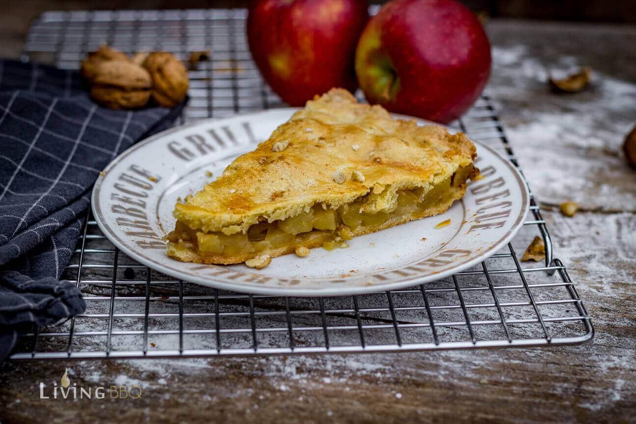 Apfelkuchen serviert [object object]_gedeckter Apfelkuchen 19 von 21