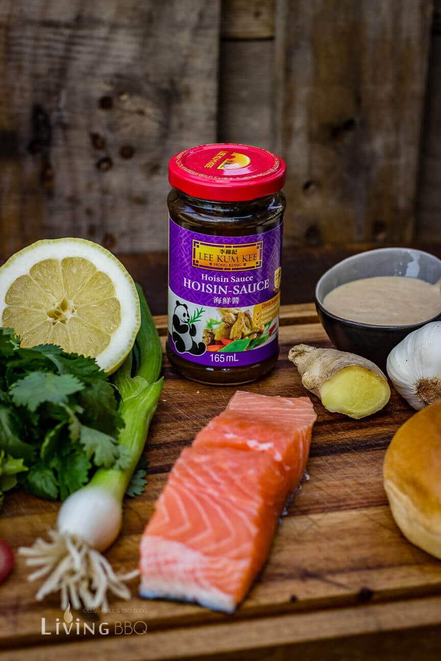Hoisin Sauce für Asia Lachs-Burger