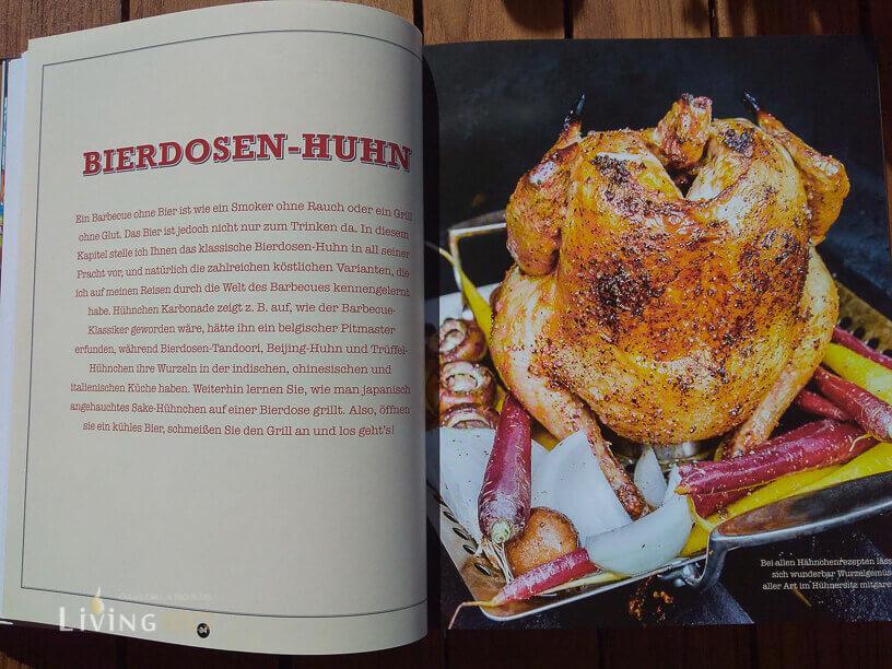 Das klassische Bierdosenhuhn _BBQ Huhn Steven Raichlens Chicken Rezepte 4 von 6