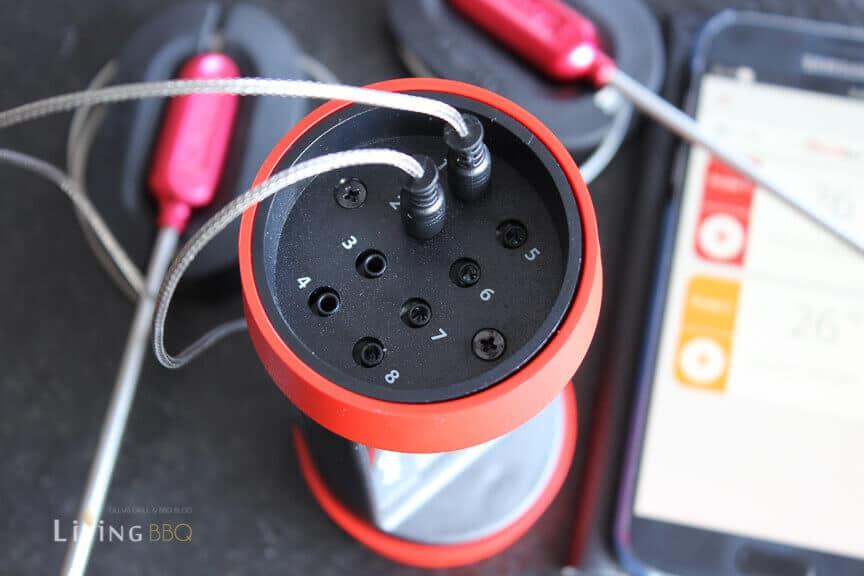 Test GrillEye Pro Plus mit 8 Anschlüssen _Grilleye Pro Plus Grillthermometer 9 von 15