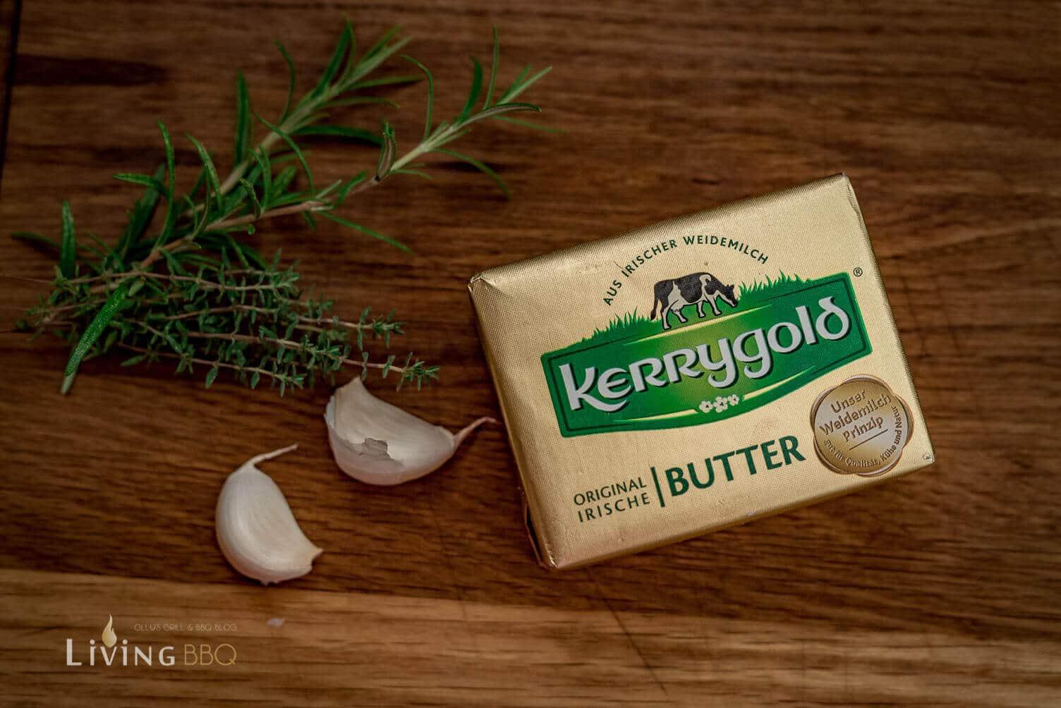 Kerrygold Butter gebräunt