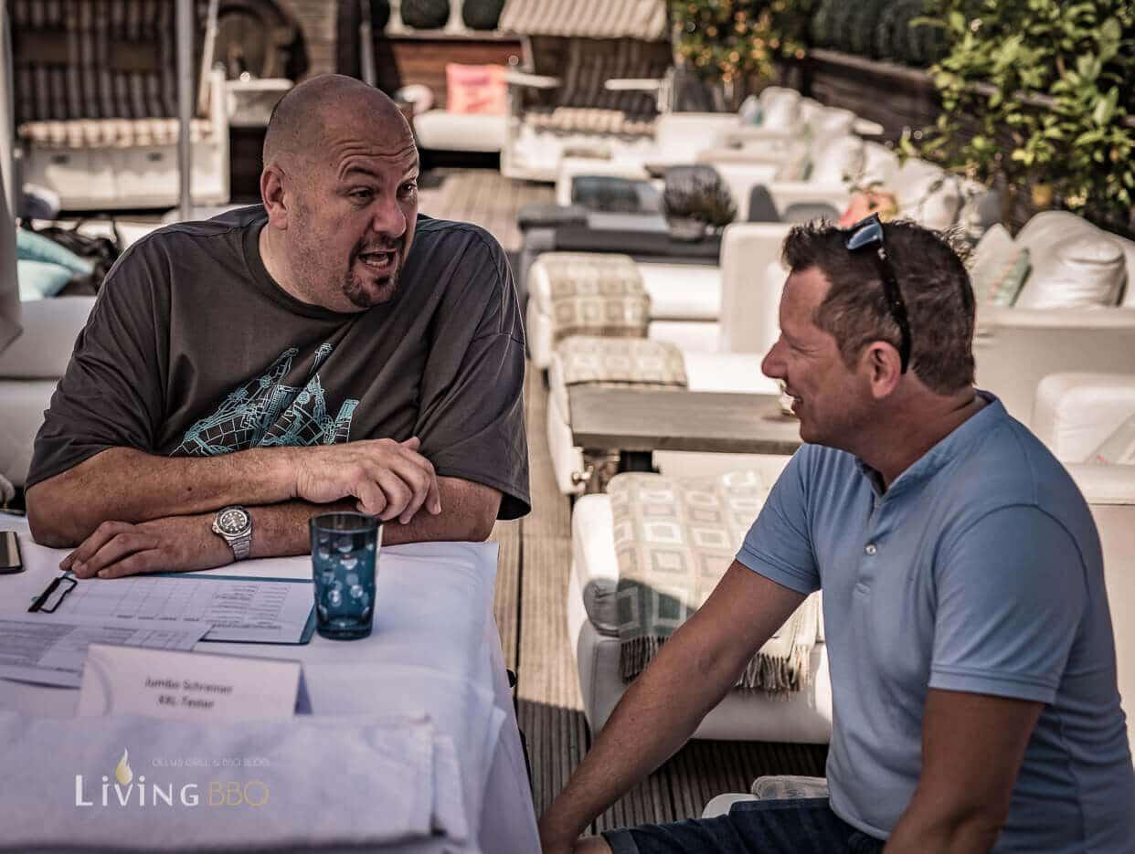 Jumbo Schreiner im Gespräch mit Torsten