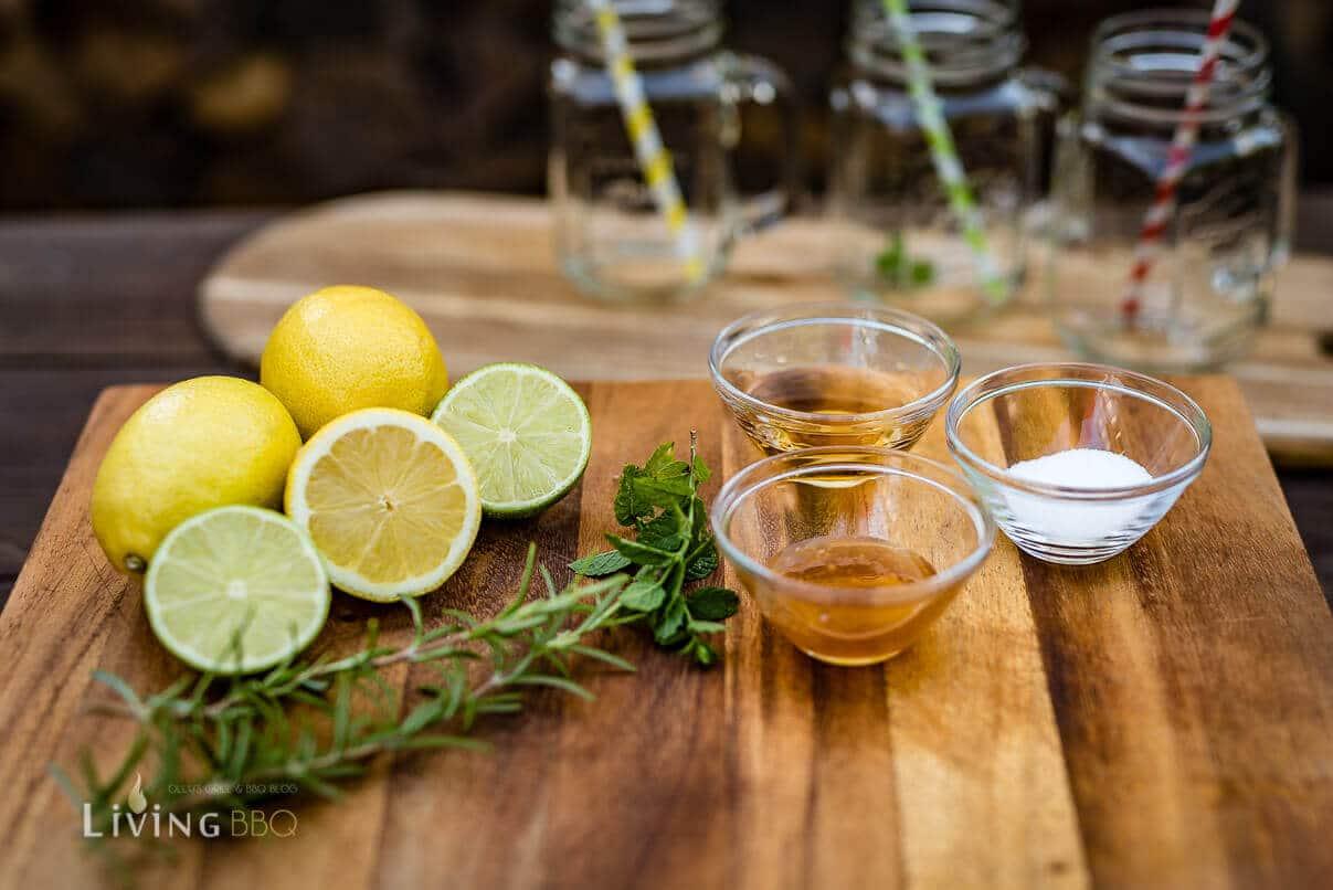 Zutaten gegrillte Limonade [object object]_Leonardo Bowle Punch 1 von 13