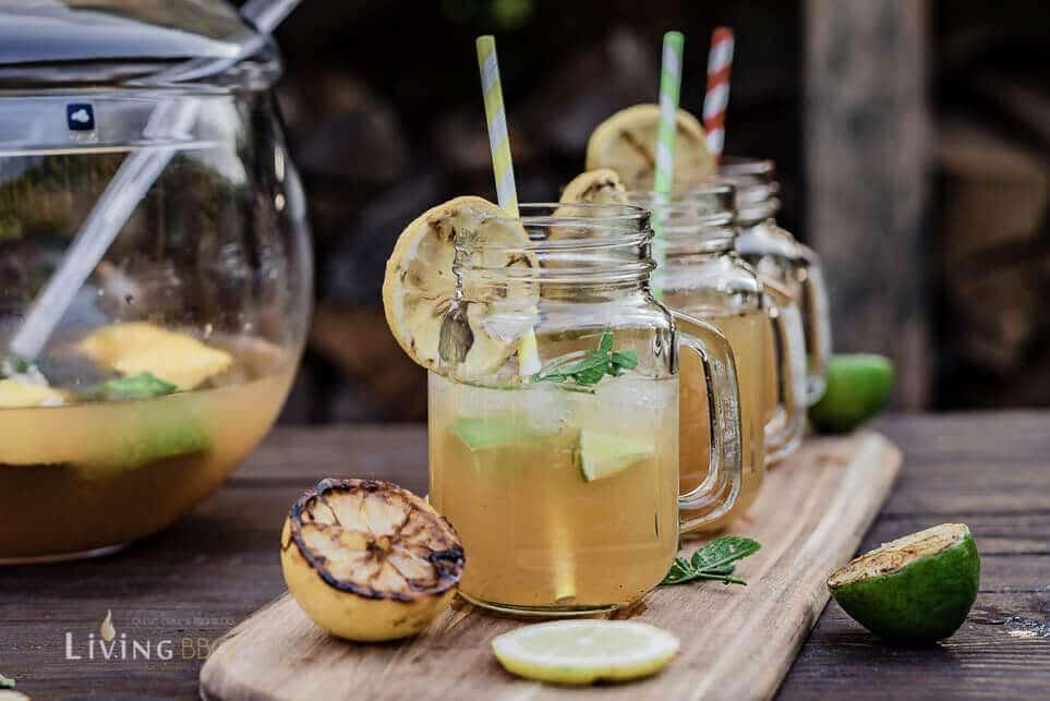 gegrillte Limonade serviert [object object]_Leonardo Bowle Punch 11 von 13