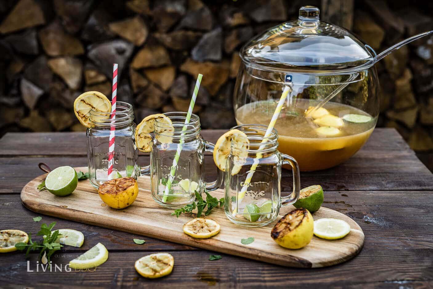 Bowlegefäß mit gegrillter Limonade [object object]_Leonardo Bowle Punch 8 von 13