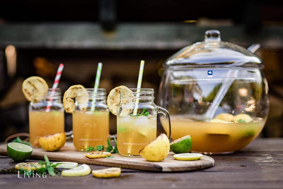 gegrillte Limonade mit Limette und Zitrone [object object]_Leonardo Bowle Punch 9 von 13