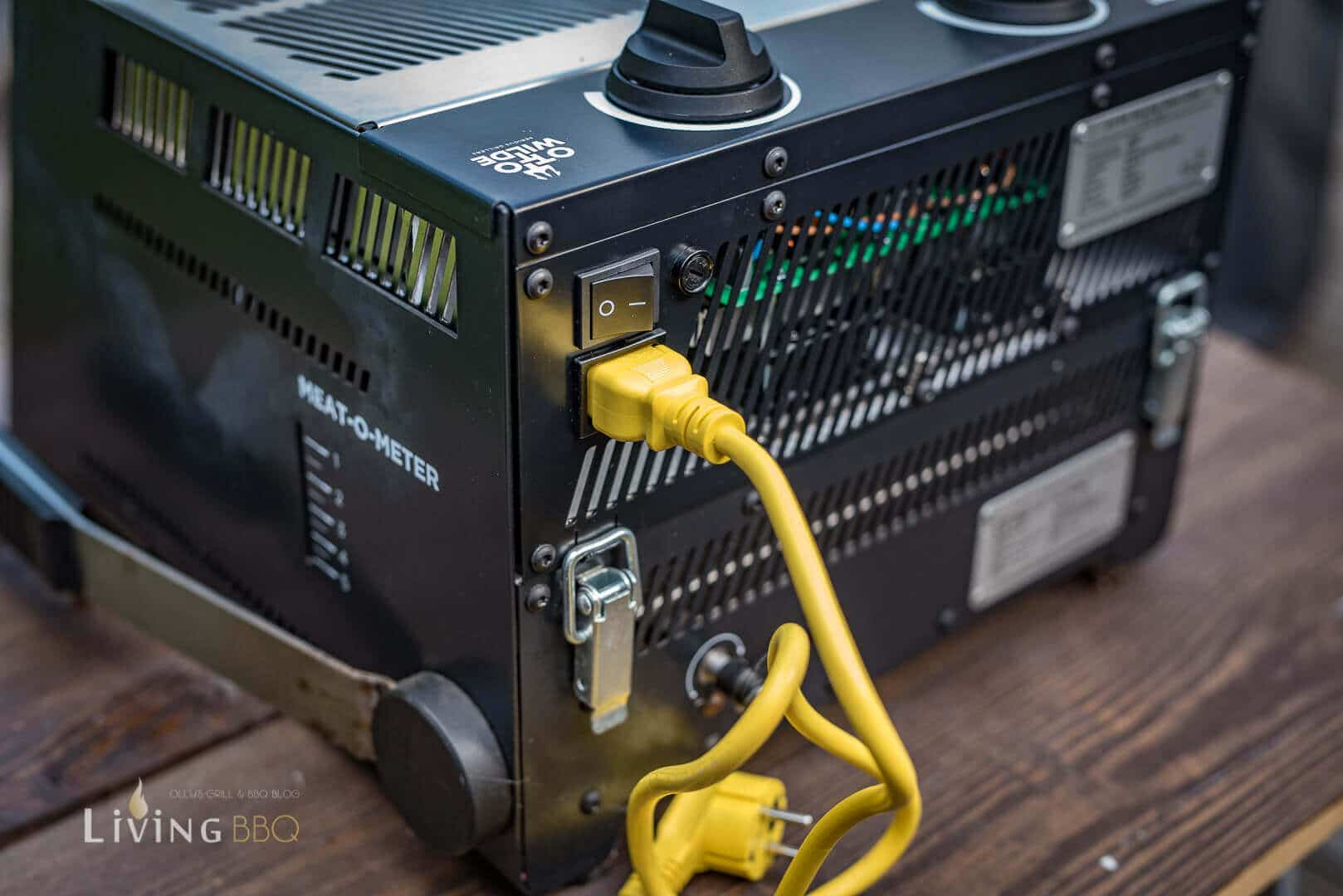 Stromanschluss statt Gasleitung _Elektro O