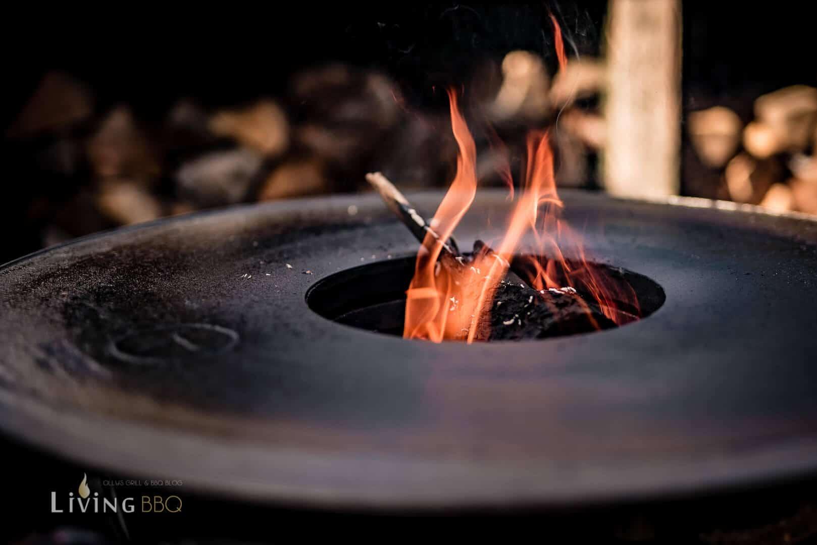 Feuerplatte für den Kugelgrill _Zwetschgen Burger 2 von 12