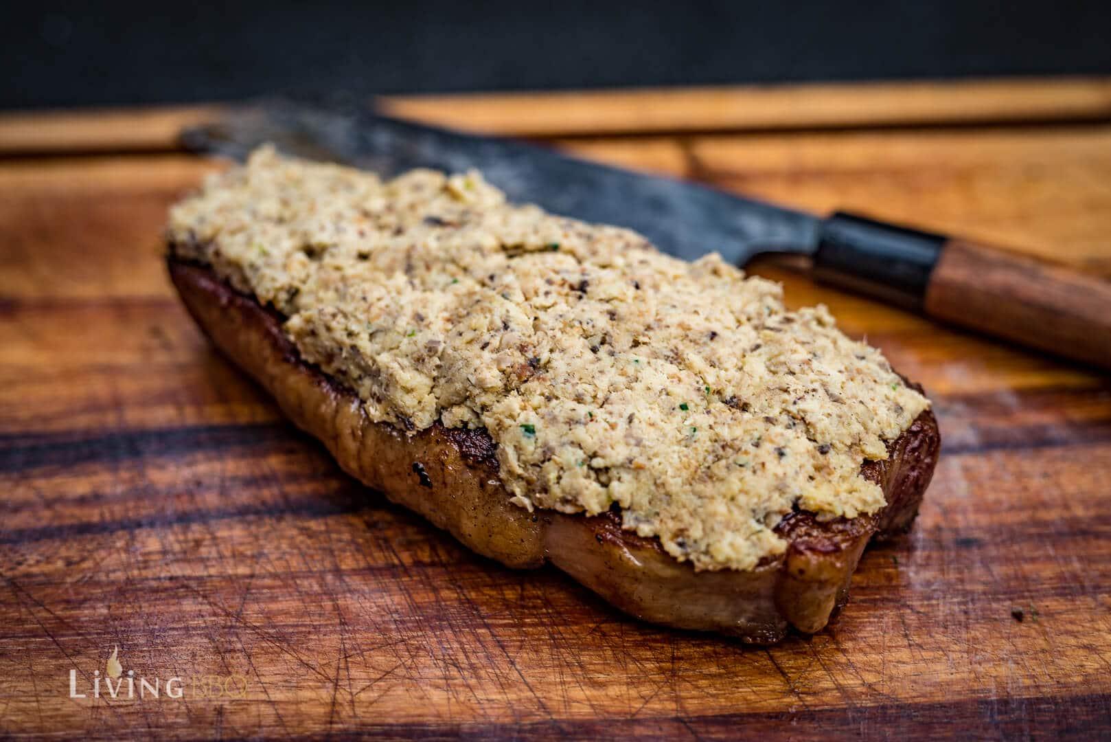 Champignon Kruste auf dem Steak _DSC 5750