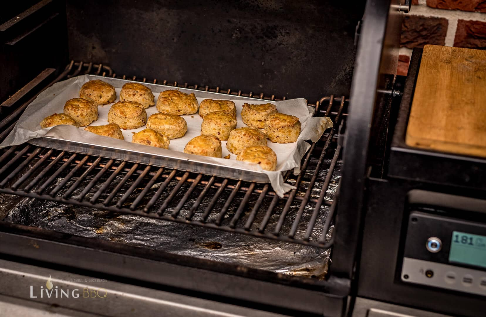 Scones im Smoker