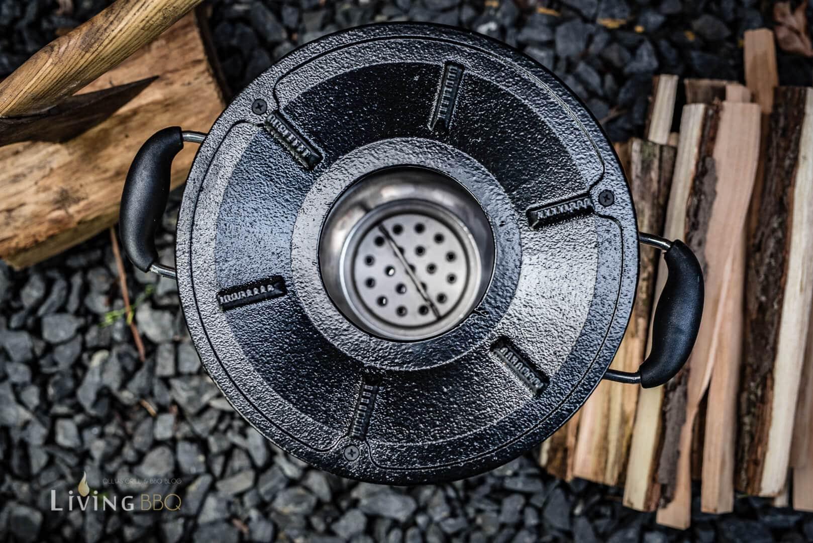 Holzkohle Einsatz Raketenofen _Raketen Ofen 8 von 32